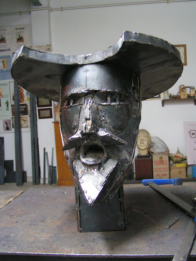 Monumento ecuestre al Quijote